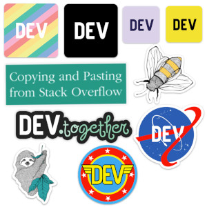 Dev.to Sticker Pack